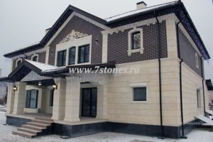 Фасады из дагестанского камня